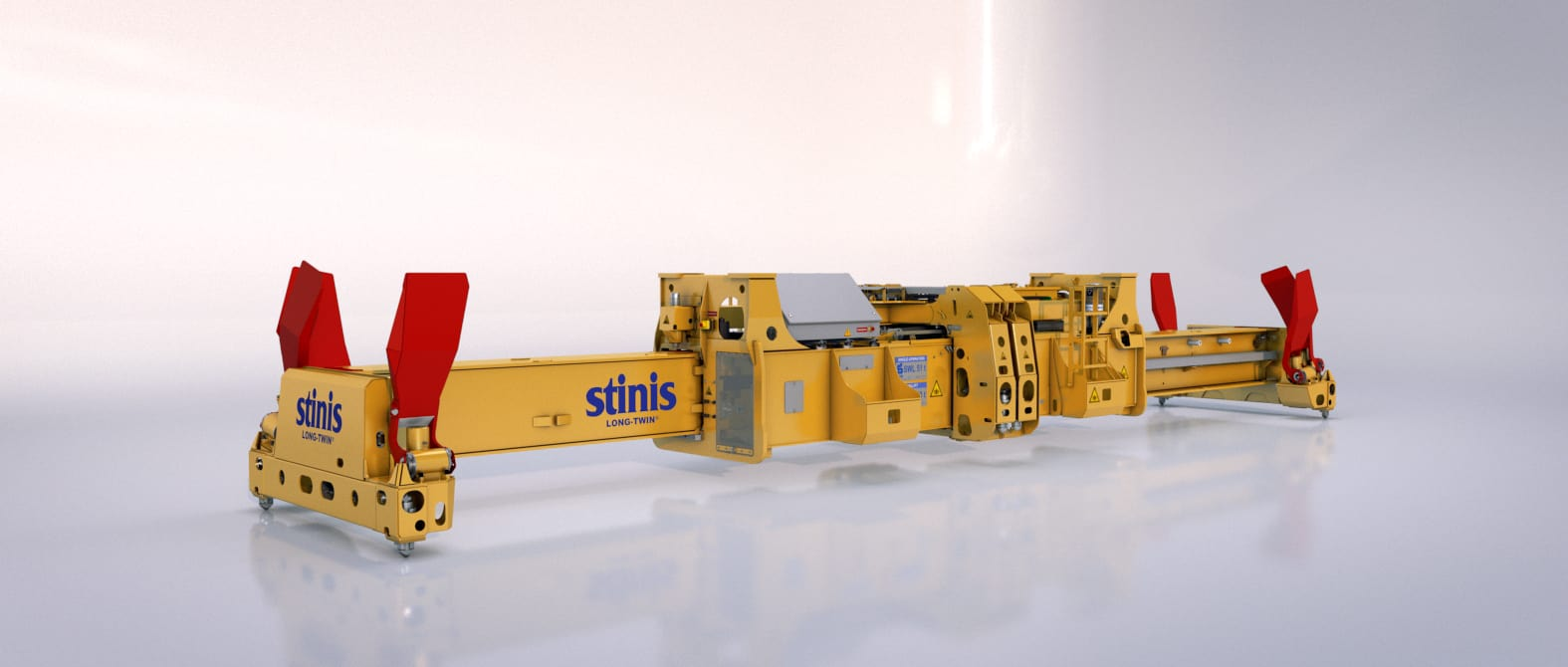 Long Twin Ship to Shore Crane Spreaders Stinis
