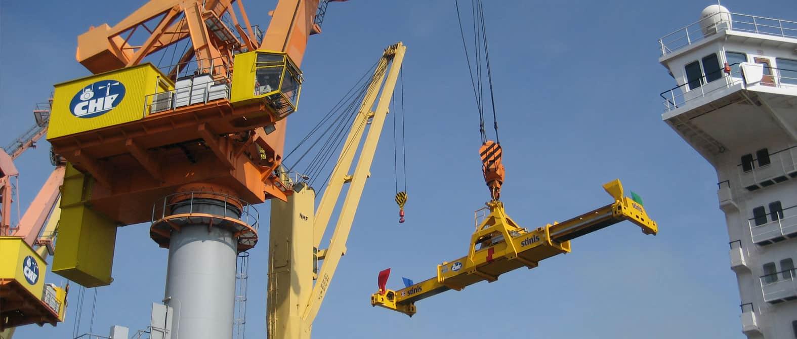 Mobile Harbour Crane Spreaders
