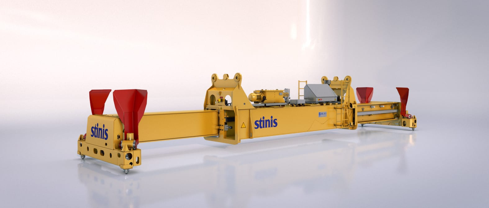 Single Lift Ship to Shore Crane Spreaders Stinis