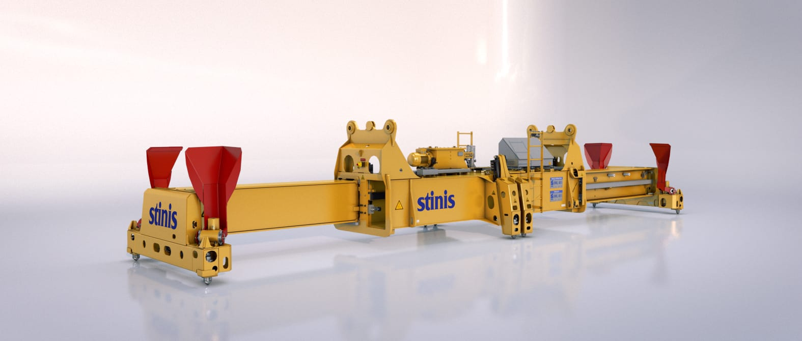 Twin Lift Ship to Shore Crane Spreaders Stinis