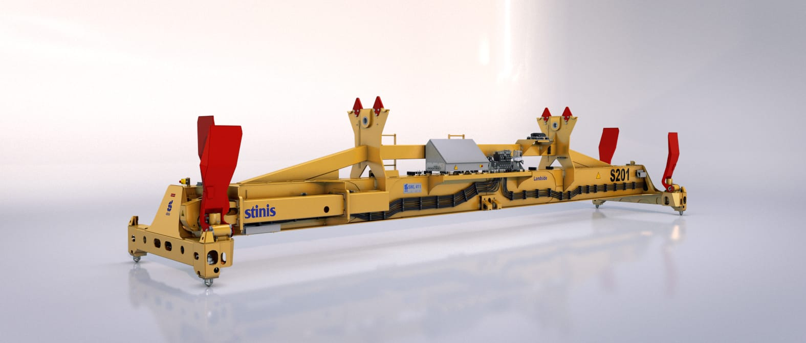 fixed spreader stinis split head block