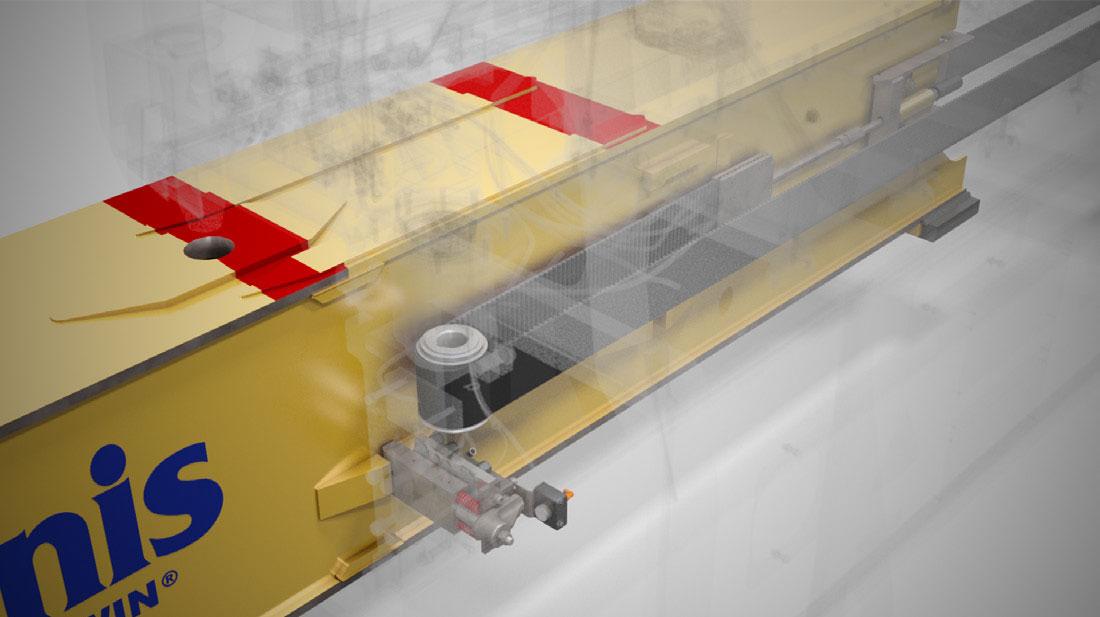 Container Spreader Stinis Belt System