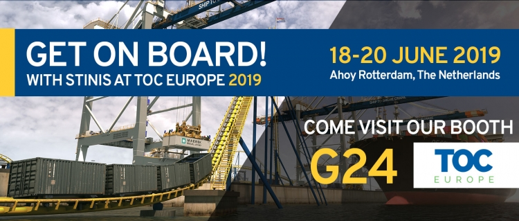 Get on board with Stinis at TOC Europe 2019
