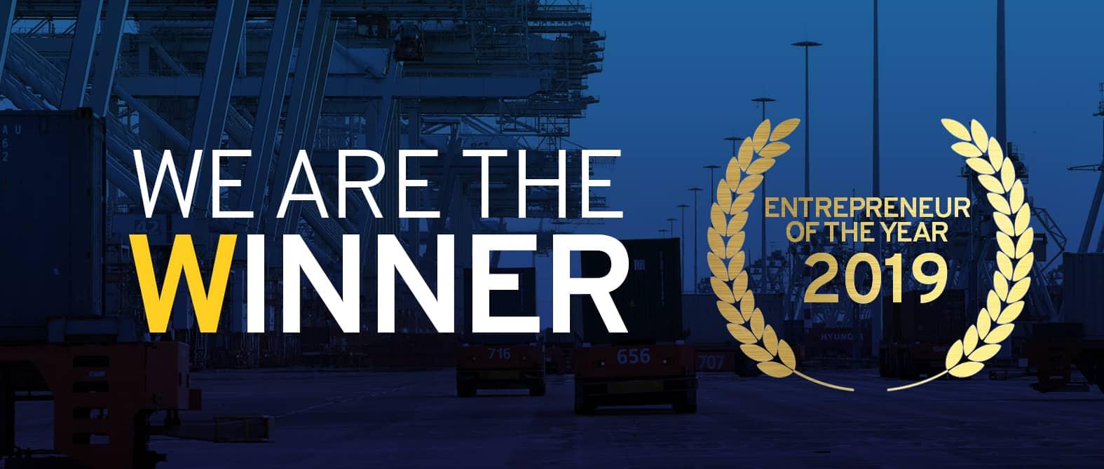 Stinis Holland B.V. wins entrepreneur of the year!